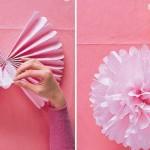 آموزش تصویری درست کردن گل