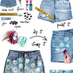 تزئین لباس های ساده