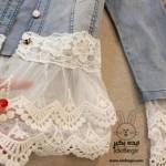 استفاده از تور در لباس