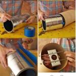 آموزش تصویری درست کردن دو مدل لوستر