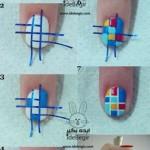 آموزش طراحی روی ناخن