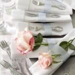 6 ایده برای تزئین دستمال سفره