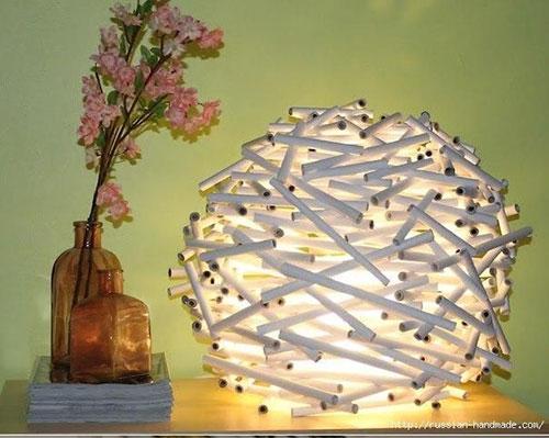 درست کردن چراغ خواب کاغذی