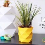 آموزش تصویری درست کردن گلدان کاغذی