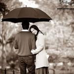 عکاسی از زوج ها با چتر