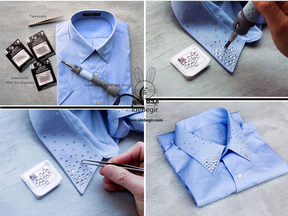 تزئین لباس ساده، طراحی روی لباس