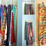 ایده هایی برای مرتب سازی شال و روسری