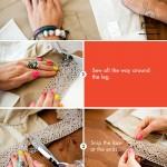 آموزش تصویری تزئین شلوارک