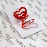 آموزش درست کردن کارت تبریک برای ولنتاین